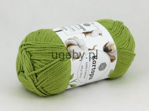 Włóczka Love Cotton kolor zielony nr K442